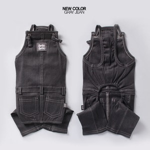NEW SPAN OVERALLS [ GRAY JEAN ]